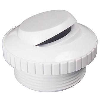 Custom 25552-000-000 Directional Flow Outlet - White