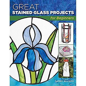 Bra målat glas projekt för nybörjare