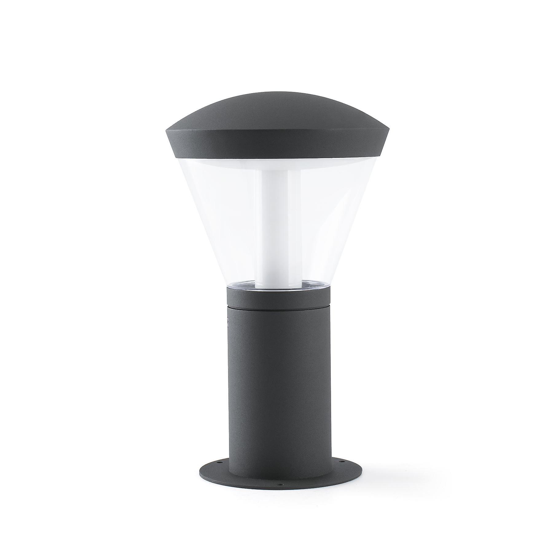 Faro - Shelby Dark gris LED de plein air Pedestal FARO75537