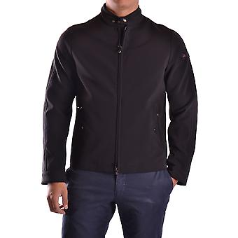 Peuterey Black Polyester Outerwear Jacket