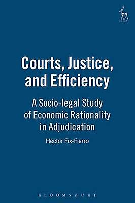 Courts Justice and Efficiency A SocioLegal Study of Economic Rationality in Adjudication by Fix Fierro & Hector