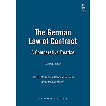 German Law of Contract A Comparative Treatise Second Edition by Markesinis & Basil