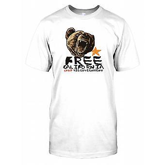 Kalifornien - Stop Big Government Kinder T Shirt gratis