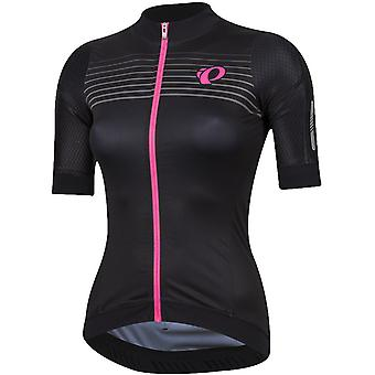 Pearl Izumi Black Diffuse Pro Pursuit Speed Womens Short Sleeved Cycling Jersey