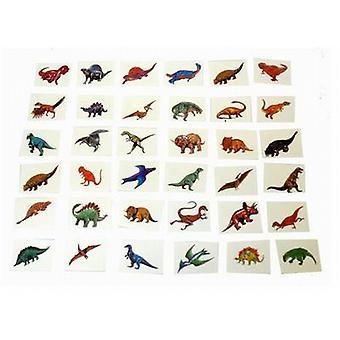 Party Bag/tjeneste/Lucky Dip enkelte tatoveringer 144/Pack - dinosaurer