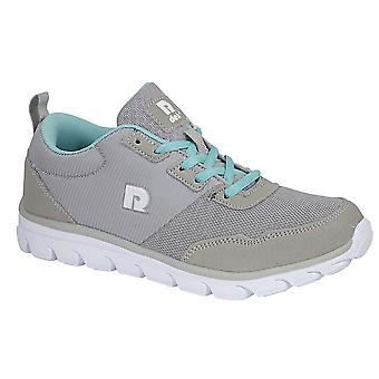 Ladies Womens Trainers Lace Up Memory Foam Running Lightweight Shoes