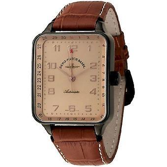 Zeno-Watch Herrenuhr SQ Spezial Pointer Date black 131Z-bk-f6