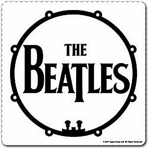 Beatles Drum cork backed drinks mat / coaster (ro)