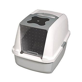 Catit Hooded Cat Wurf Box-Grau