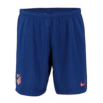 2019-2020 Atletico Madrid Home Nike Football Shorts (Kids)
