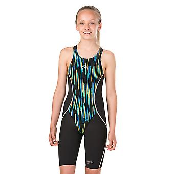 Speedo Girl's Speedo Fastskin Junior Lzr Racer X Jammer Swimwear For Girls