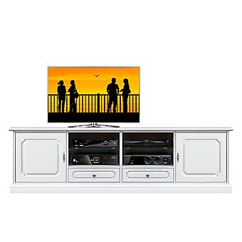 2 meter klassieke gelakte TV-kast