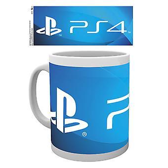 Playstation PS4 Logo Boxed Drinking Mug