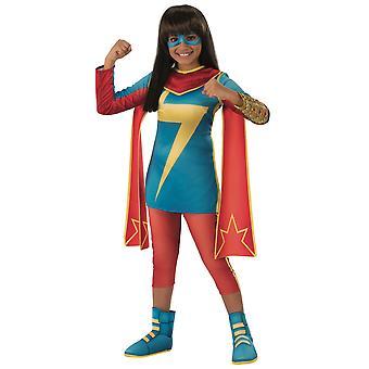Ms. Marvel Secret Warriors Marvel Rising Superhero Book Week Girls Costume