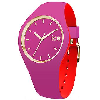 Ice loulou Watch for Unisex Analog Quartz with Silicone Bracelet IC007243