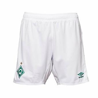 2019-2020 Werder Bremen Home Football Shorts (White)