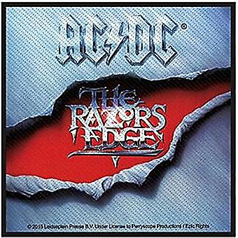 AC/DC Razors Edge sew-on cloth patch   (mm)