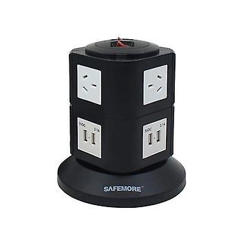 Safemore 2 Niveau Power Stacker Power Board Noir et Blanc