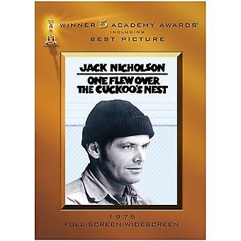 Yksi lensi yli Cuckoo [DVD] USA tuonti