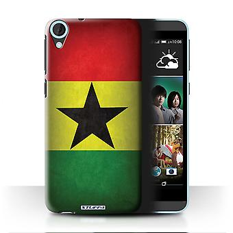STUFF4 Case/Cover for HTC Desire 820s Dual/Ghana/Ghanaian/Flags