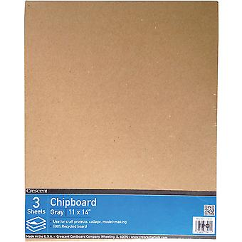 Crescent Recycled Chipboard Value Pack 3/Pkg-11