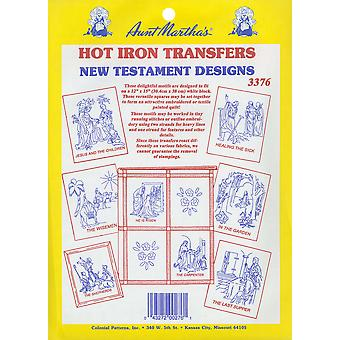 Aunt Martha's Iron On Transfer Collections New Testament Motifs Tpc 3376