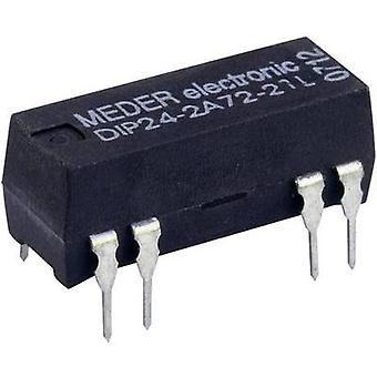 Reed relay 2 makers 24 Vdc 0.5 A 10 W DIP 8 StandexMeder Electronics