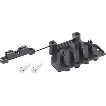 Strain relief Adels-Contact 192205 V9 Black 1 pc(s)