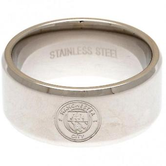 Manchester City Band Ring Small