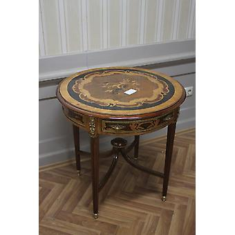 Baroque side - table antique style marquetry MkTa0101