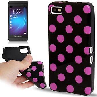 Protective case TPU points of case for mobile BlackBerry Z10