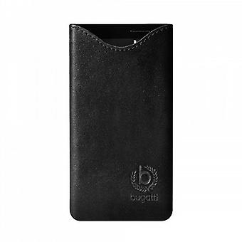 Bugatti SlimFit leather case for Samsung Galaxy S3 mini black