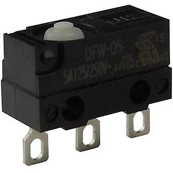 Microswitch 250 Vac 5 A 1 x On/(On) Zippy DFW-05L-B00E0E-Z IP67 momentary 1 pc(s)