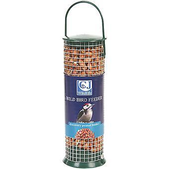 CJ Discovery plast hængende Peanut Feeder grøn 21cm (pakke med 6)
