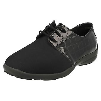 Ladies Easy B Lace Up Shoes Peggy