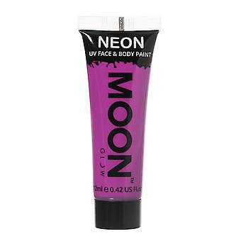 Moon Glow - 12ml Neon UV Face & Body Paint - Intense Purple