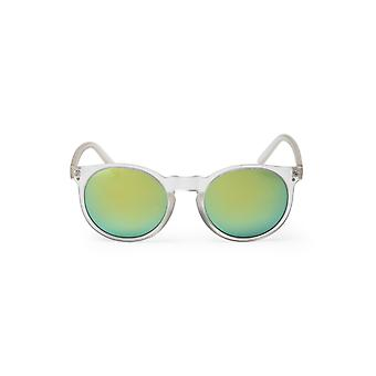 Cheapo Swamis Sunglasses - Transparent / Silver Mirror