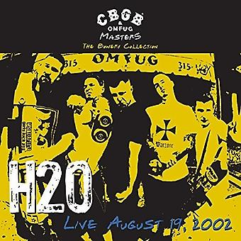 H2O - Cbgb Omfug Masters: Live August 19 2002 the Bowery [Vinyl] USA import