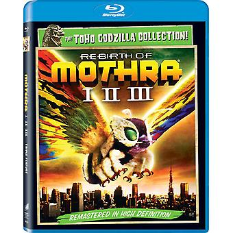 Rebirth of Mothra/Rebirth of Mothra II/Rebirth [BLU-RAY] USA import