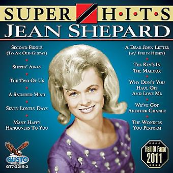 Jean Shepard - Super Hits [CD] USA import