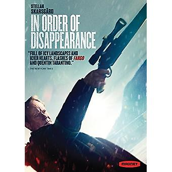 En import des USA de l'ordre de disparition [DVD]
