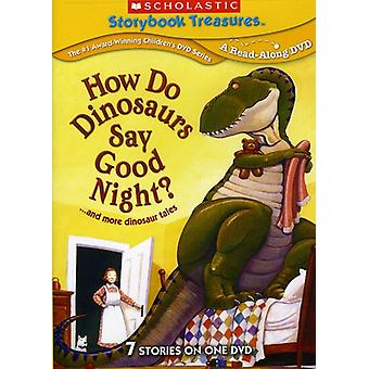 How Do Dinosaurs Say Goodnight & More Dinosaur Tal [DVD] USA import