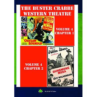Buster Crabbe Western theater Vol 4 [DVD] USA importeren