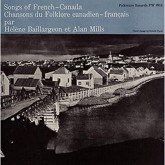 Baillargeon/młyny - import USA piosenki francuskiej Kanady [CD]