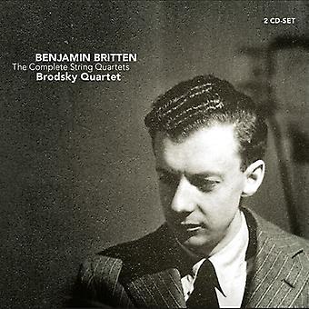 Brodsky Quartet - Britten: Complete String Quartets [CD] USA import