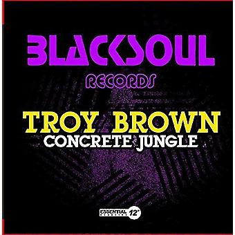 Troy Brown - betong djungeln [CD] USA import