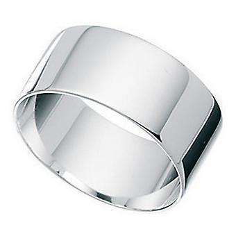 Breiten Ring aus 925 Silber