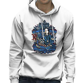 Środa Addams, my chętnie święto Addams Family mężczyzn z kapturem Bluza