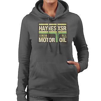 Haynes Brand XSR Tokyo Motor Oil Women's Hooded Sweatshirt