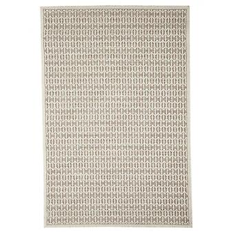 In - and outdoor carpet balcony / living room Skandi look natural beige 194 x 290 cm